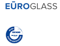 Logo of Company Euroglass and certification